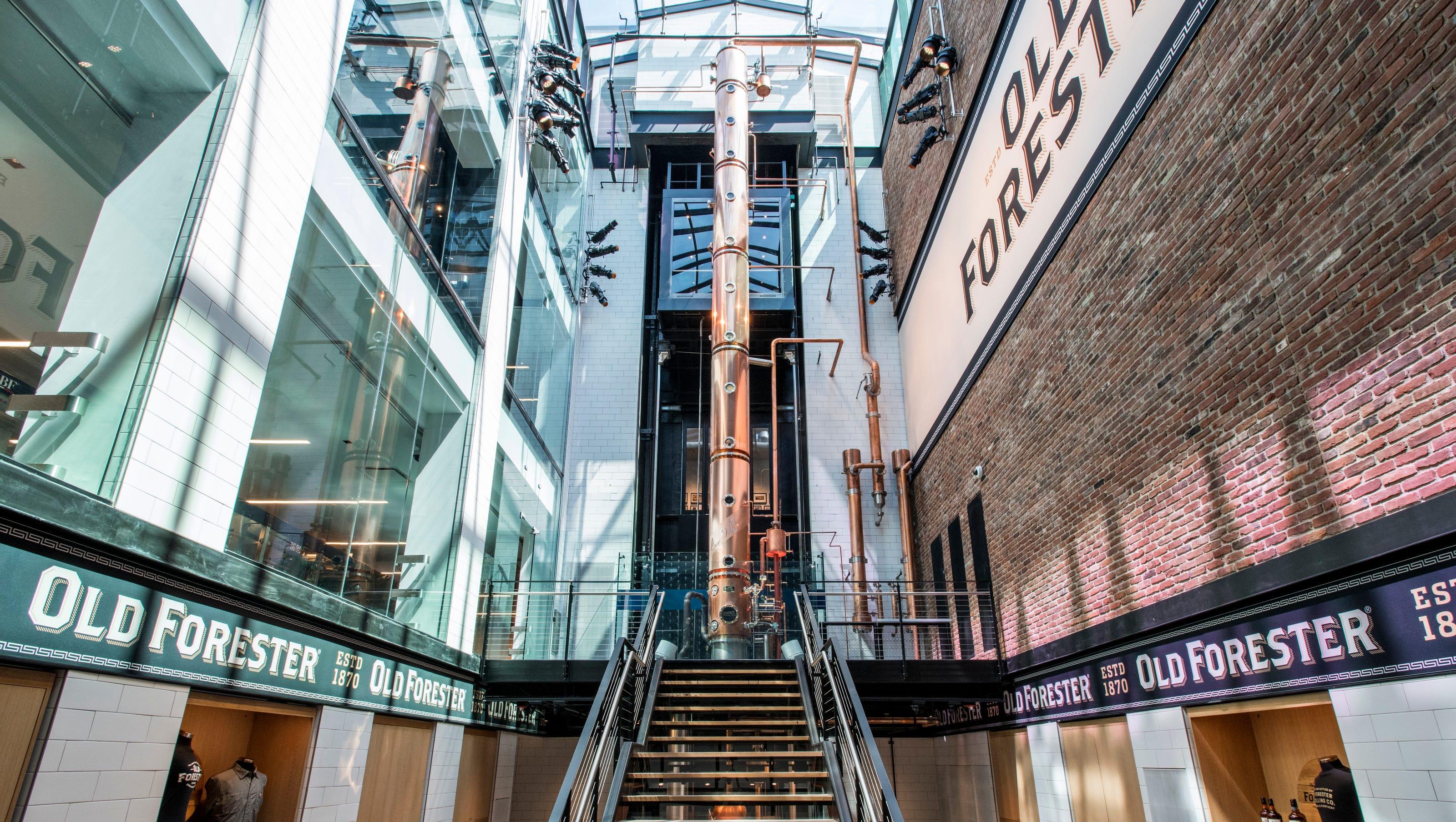 Old Forester Bourbon Whisky Distillery